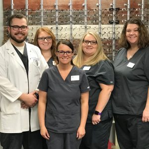 Image of the River Country Eye Care team.